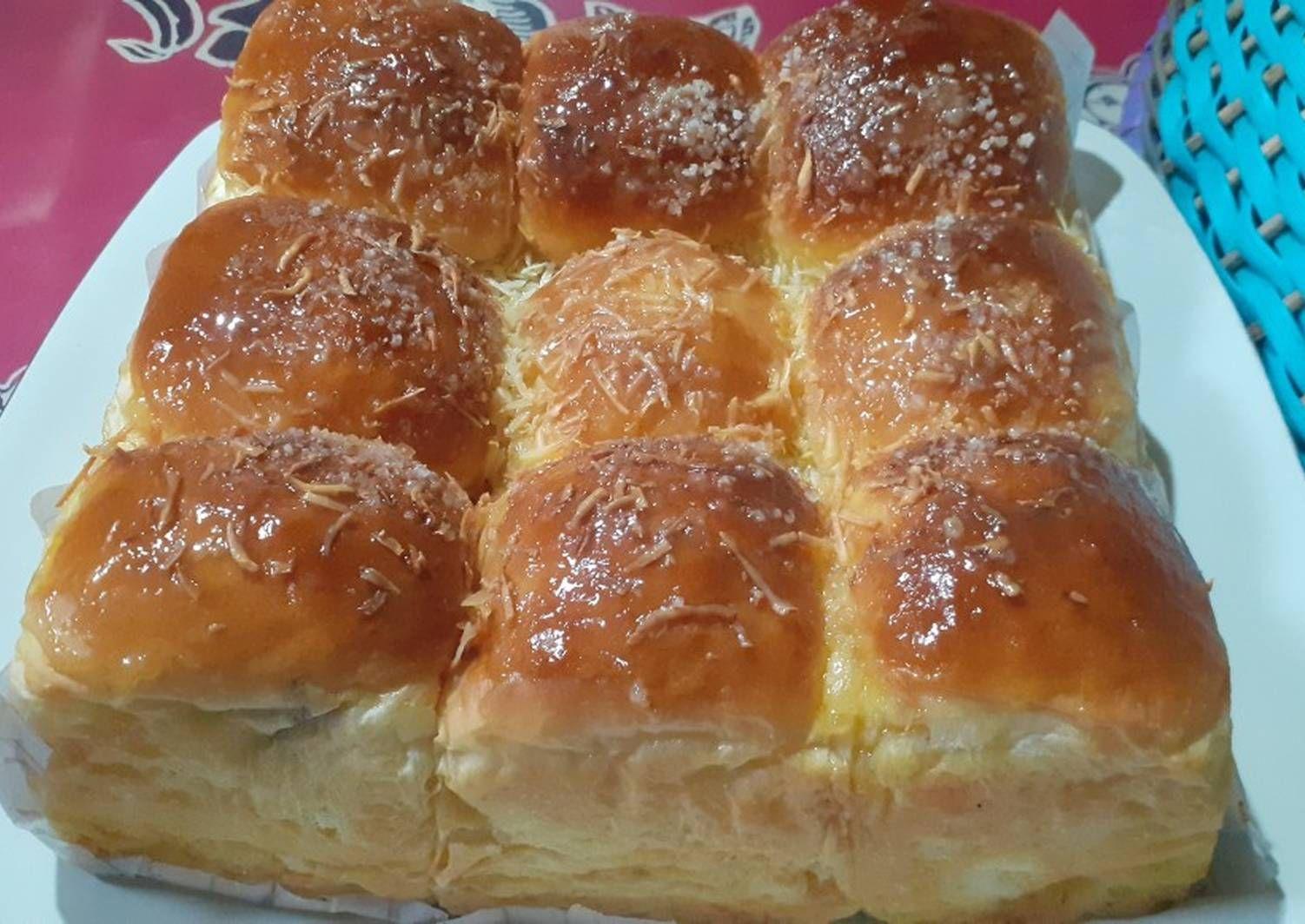Resep Roti Sobek 1 Telur Super Lembut Dan Enak Banget Oleh Ny Vhiabeo Resep Di 2020 Rotis Resep Roti Resep
