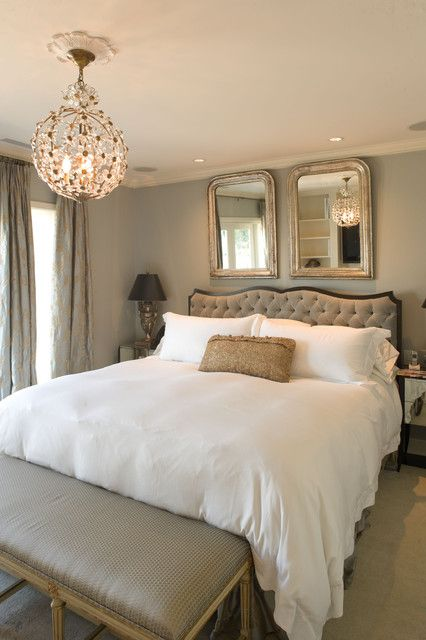 20 Master Bedroom Design Ideas In Romantic Style Traditional Styles Dream