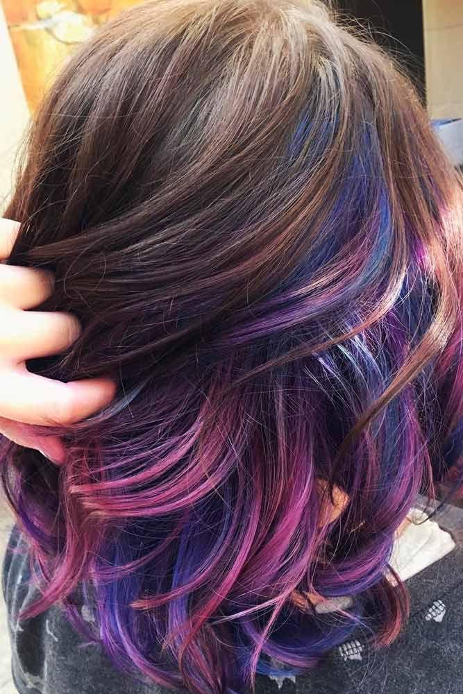 55 Fabulous Rainbow Hair Color Ideas Hair And Makeup