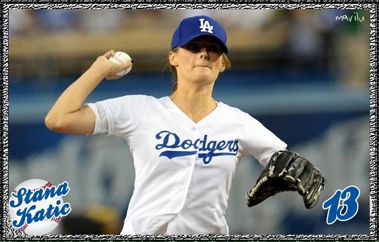 Pin by P. K on Stana Katic Stana katic, Dodgers, Castle