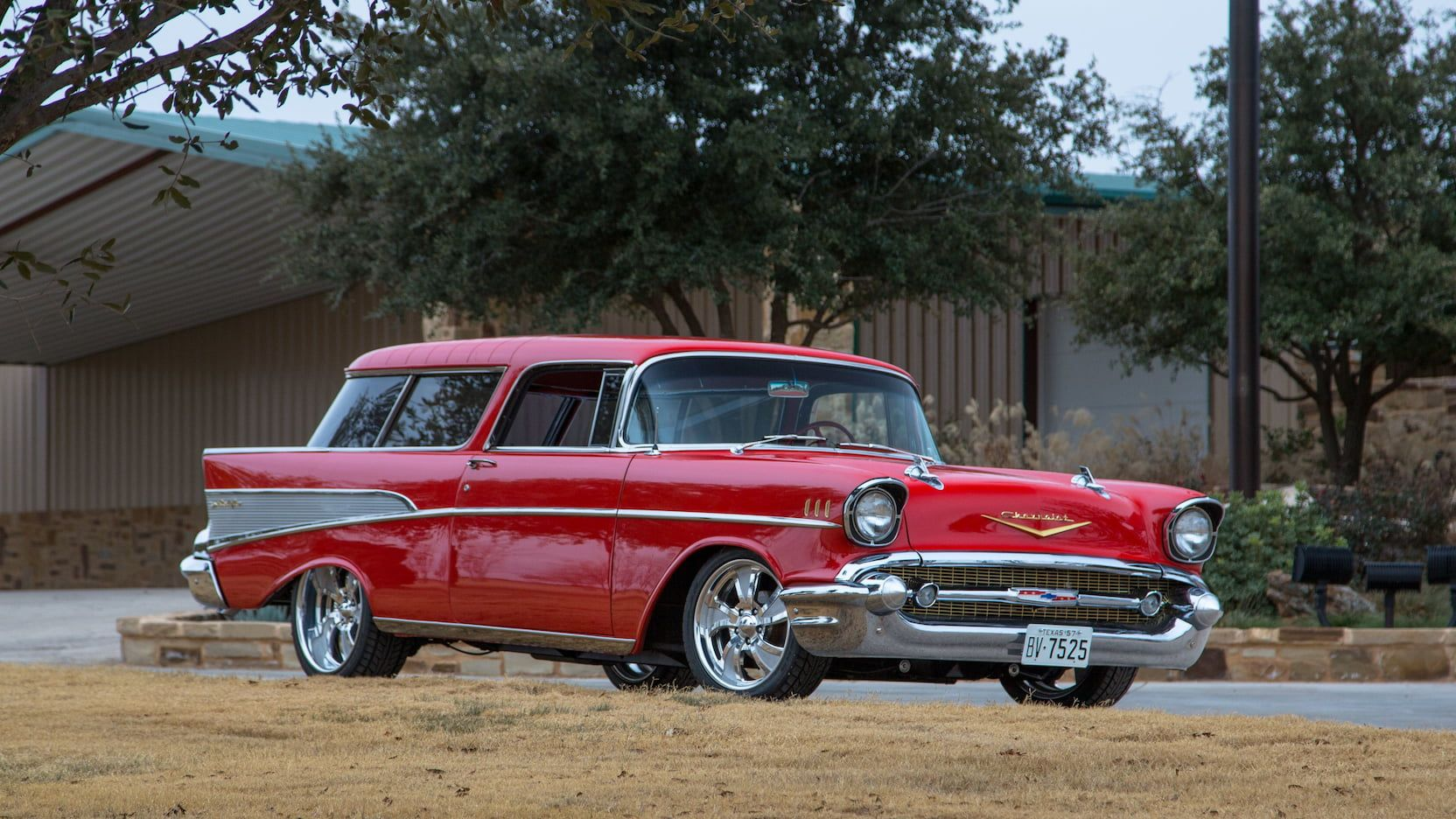 1957 Chevrolet Nomad presented as Lot S59 at Houston, TX
