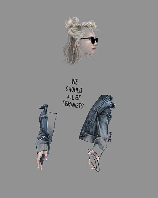 Street Fashion Illustration -Agata Wierzbicka