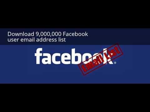 download 9 000 000 facebook user email address list email list