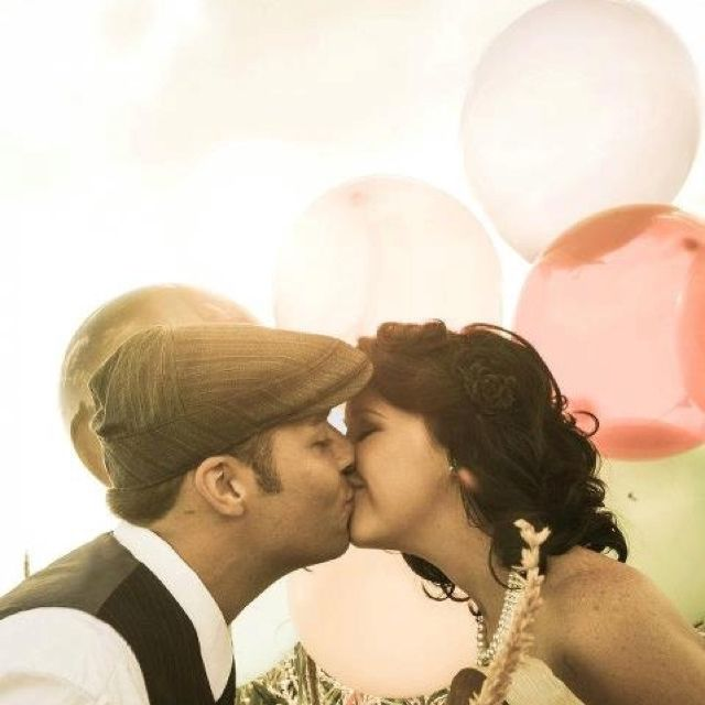 #vintage #pin-up #engagement #photos