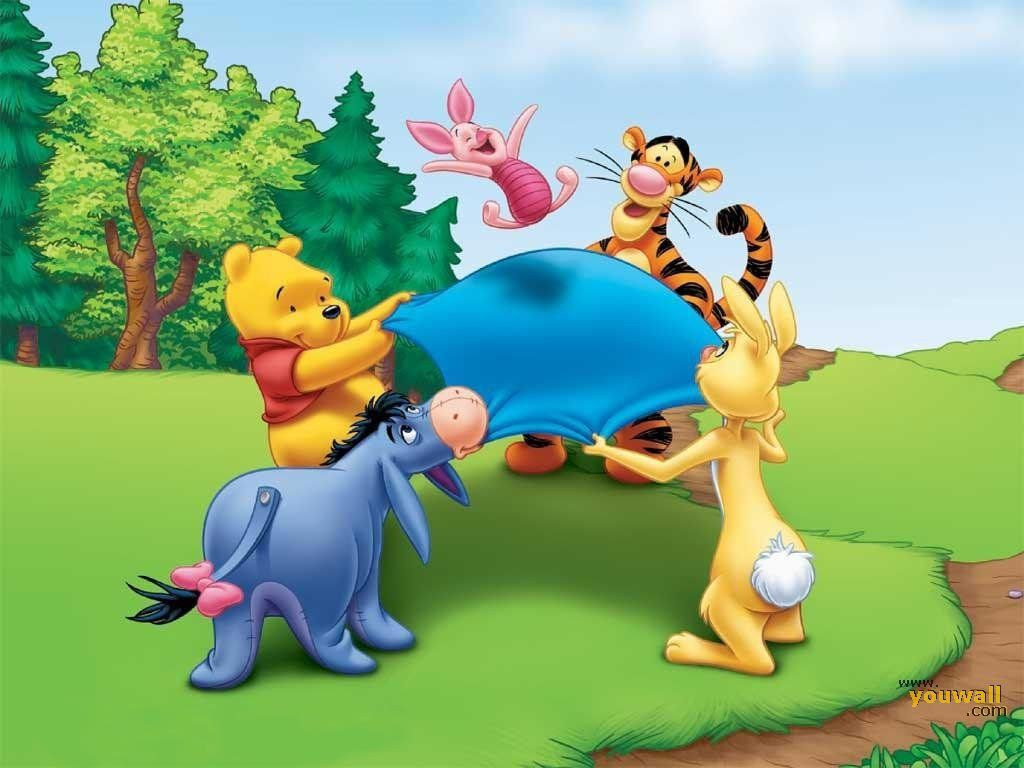 Winnie The Pooh And Friends Wallpaper Archidev