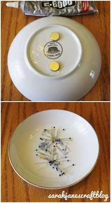 Sarah Jane's Craft Blog: Magnetic Pin Dish