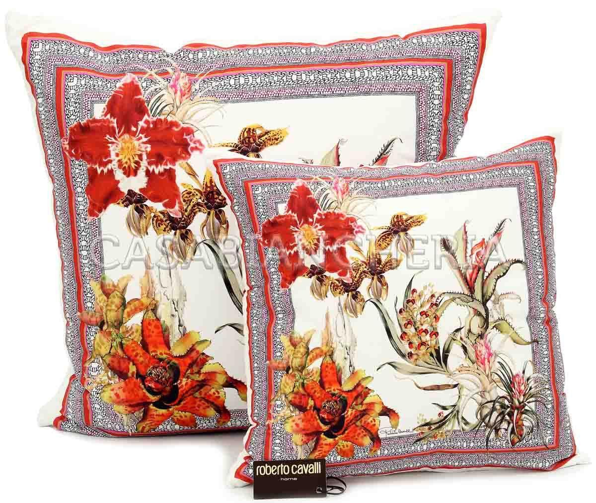 Cuscino roberto cavalli flora casabiancheria luxury for Cavalli arredamento