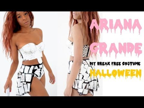 diy ariana grande break free space halloween costume youtube - Free Halloween Costume