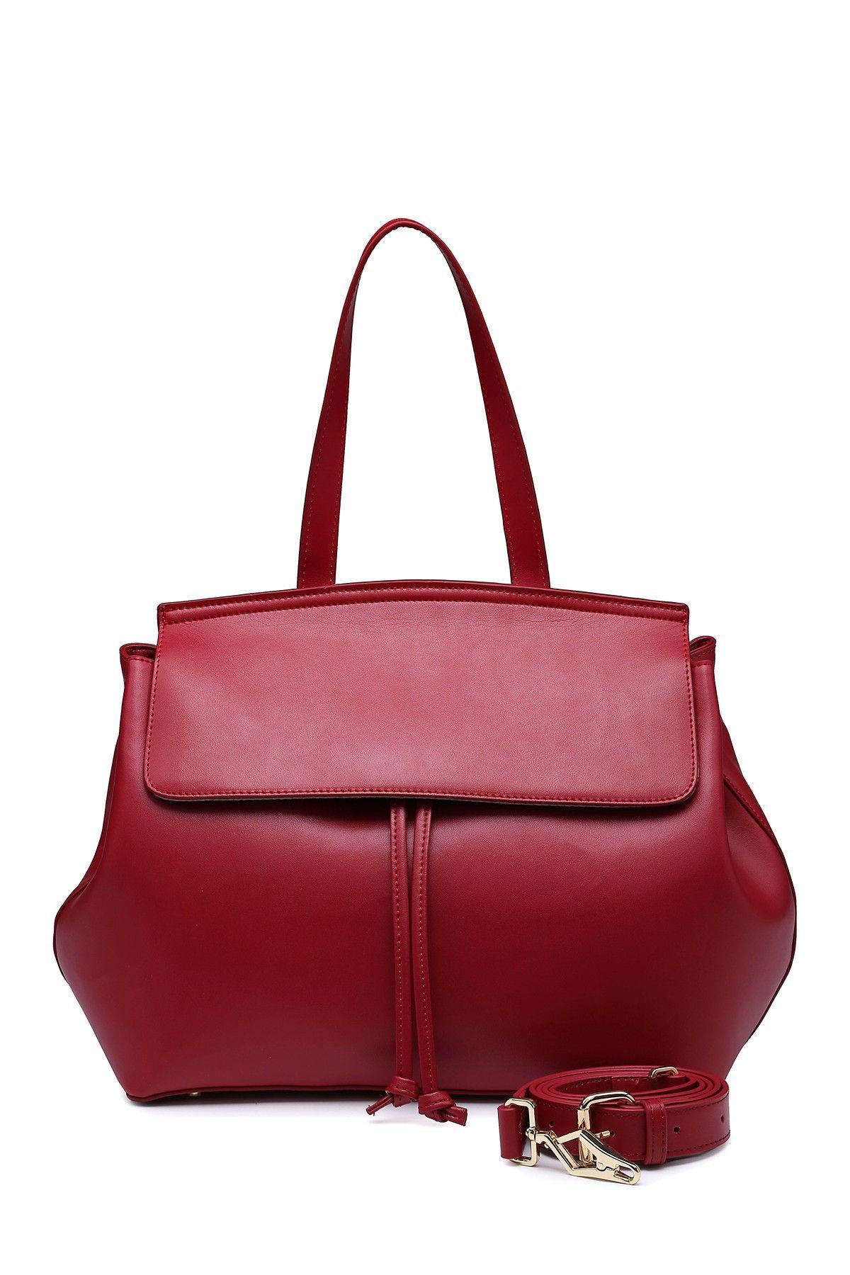 Segolene En Cuir Lacina Leather Satchel   Gel   Leather satchel ... 6666fce393