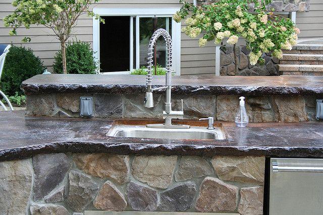 Outdoor Kitchen Countertop Ideas Designed For Your Bungalow Diy Design Artflyz Best Free Home Idea Inspiration