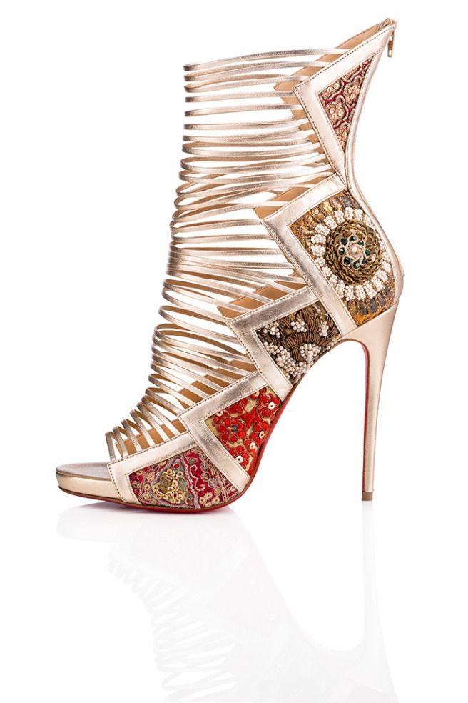 3533f97e83eb Christian Louboutin x Sabyasachi Limited-Edition Shoes