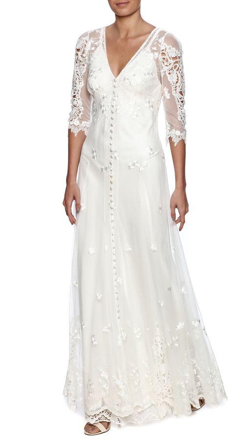 Martin McCrea Hazel Gown, Wedding Dresses Hochzeitskleider Schuhe ...