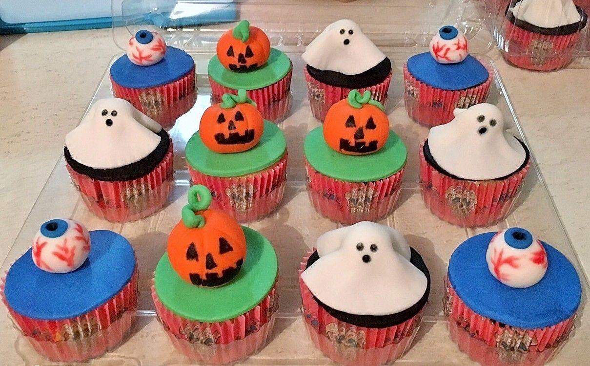 Cupcakes de Halloween!!!