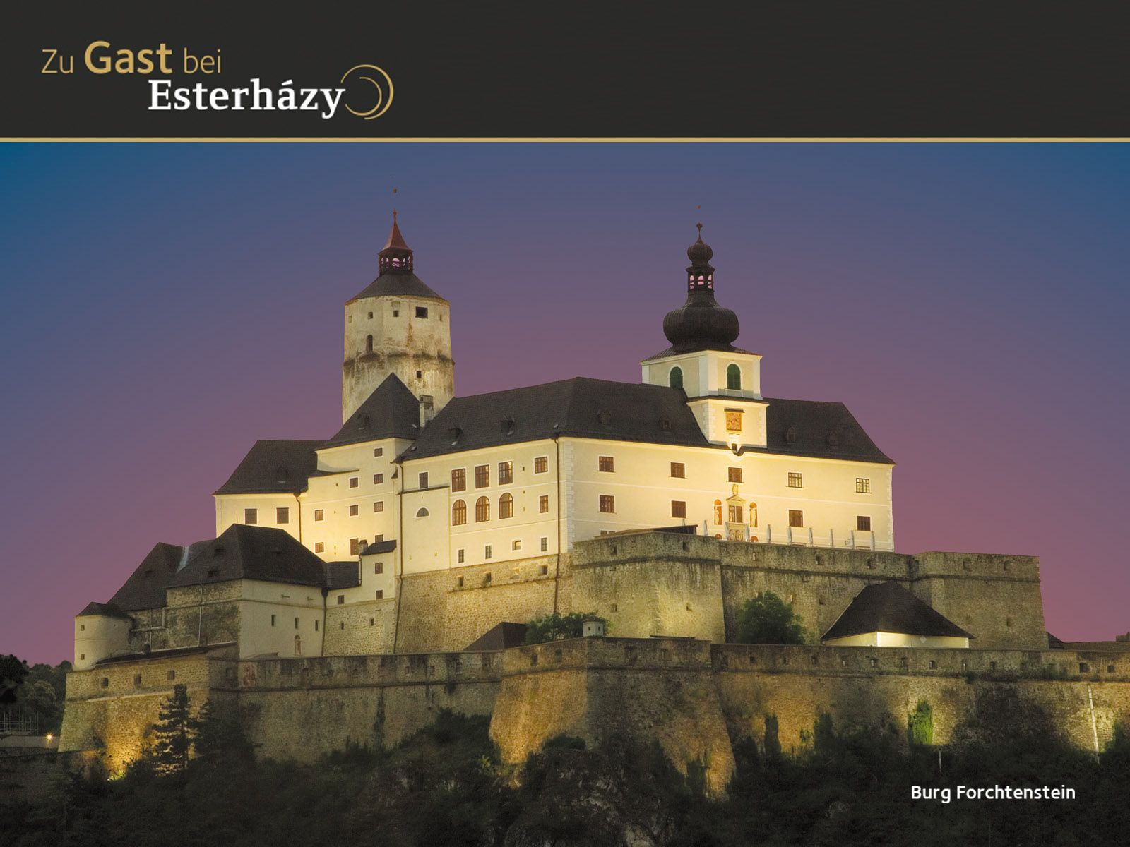 Forchtenstein Castle Is A Castle Built In The Late Middle