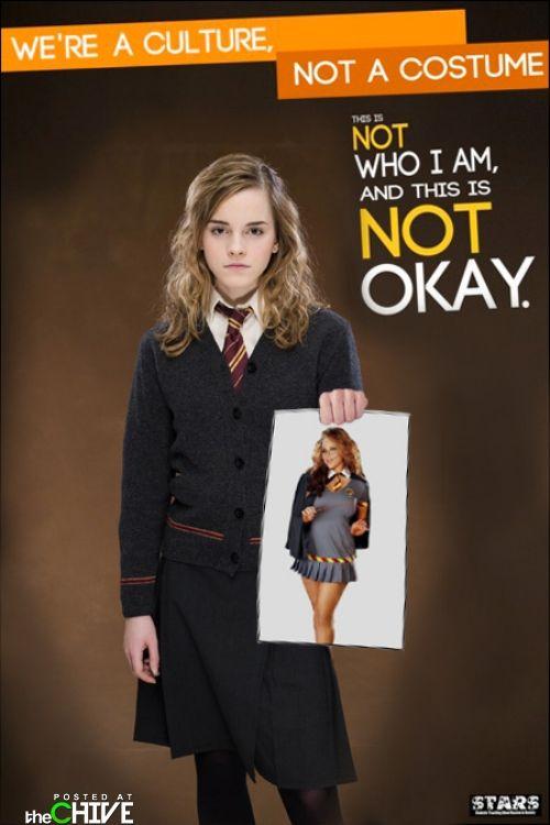 Hermoine vs Harry Potter Halloween Costume - RAD!