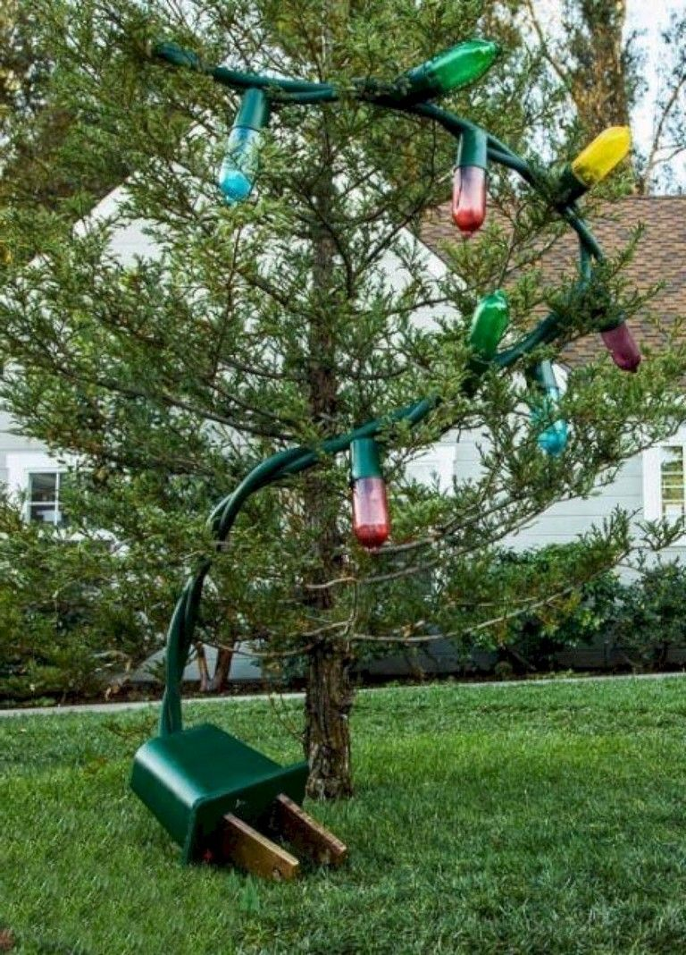 Diy outdoor christmas decorations   Exciting DIY Outdoor Christmas Decoration Ideas outdoor decor
