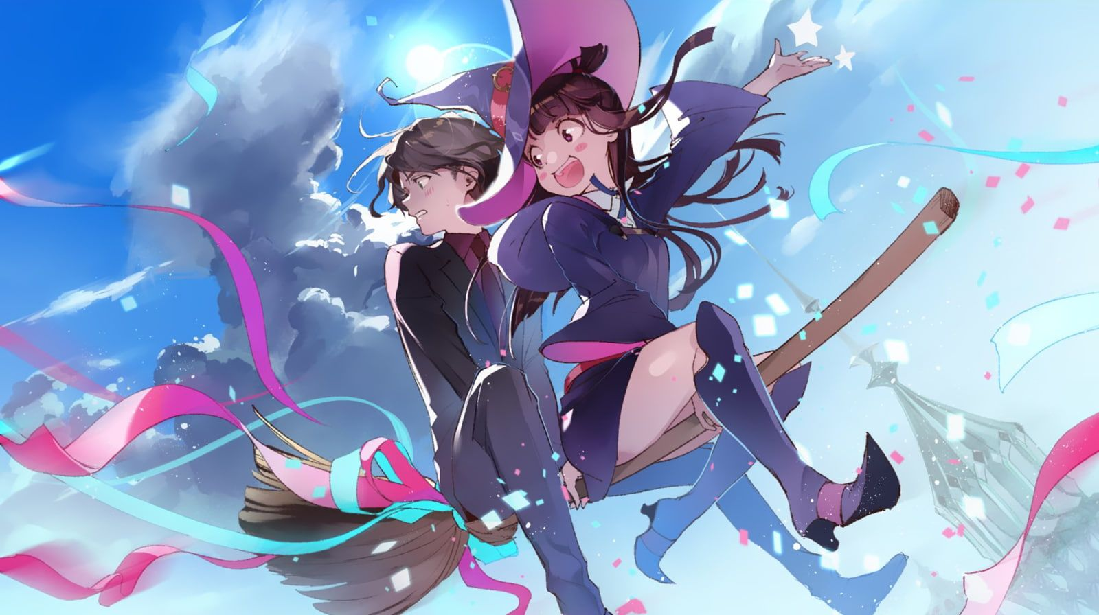 Kagari Akko Little Witch Academia 720p Wallpaper Hdwallpaper
