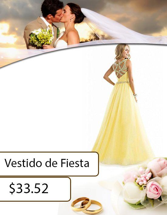 Elegante y distinguida siempre con este vestido. ¡Te traemos todo para tu fiesta, graduación o coctel! #WeddingFest #ComprasEnLinea #ShoppingMall https://goo.gl/p6mRKZ
