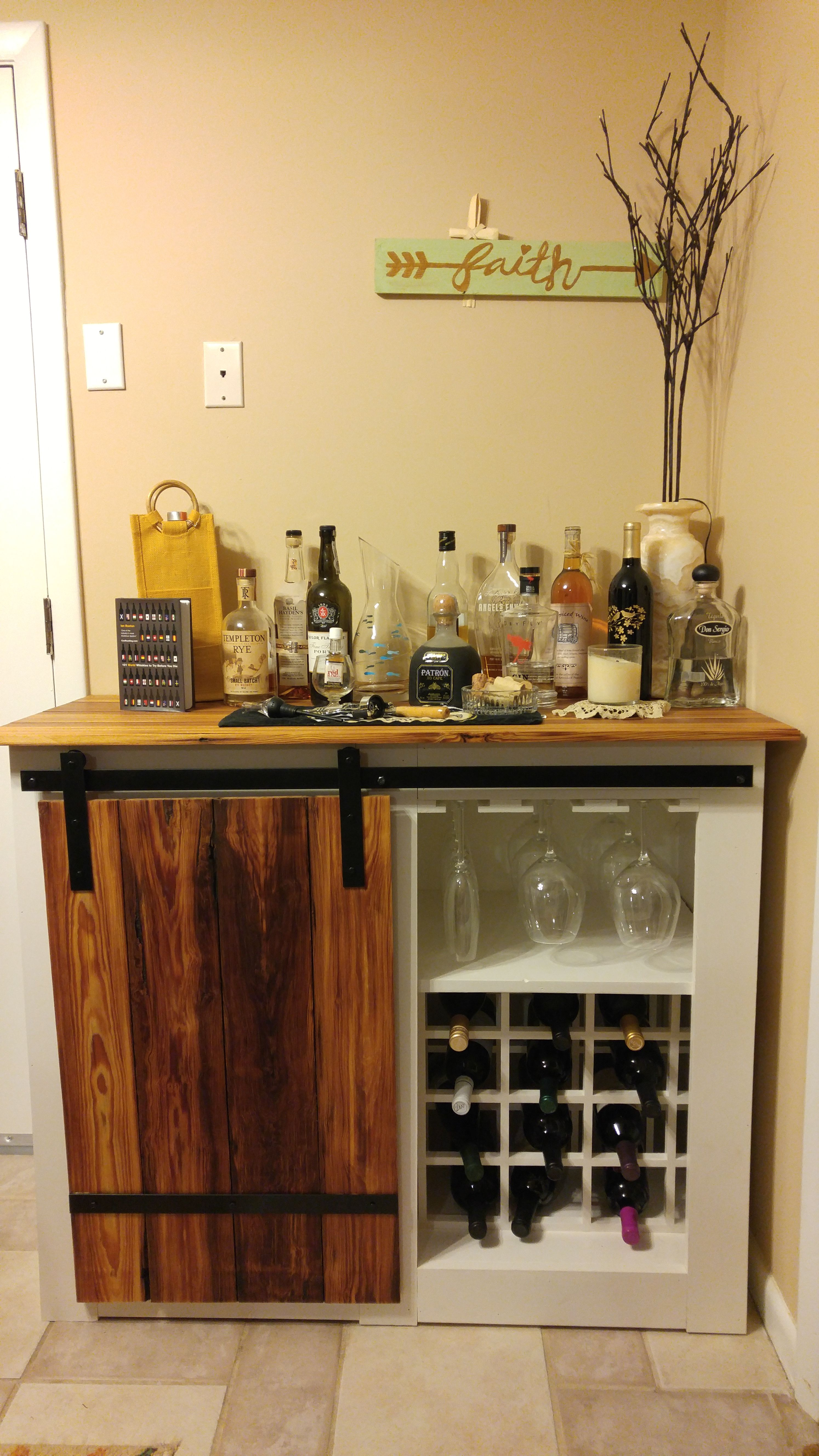 Ana White Freestanding Bar Diy Projects Bar Diy Projects