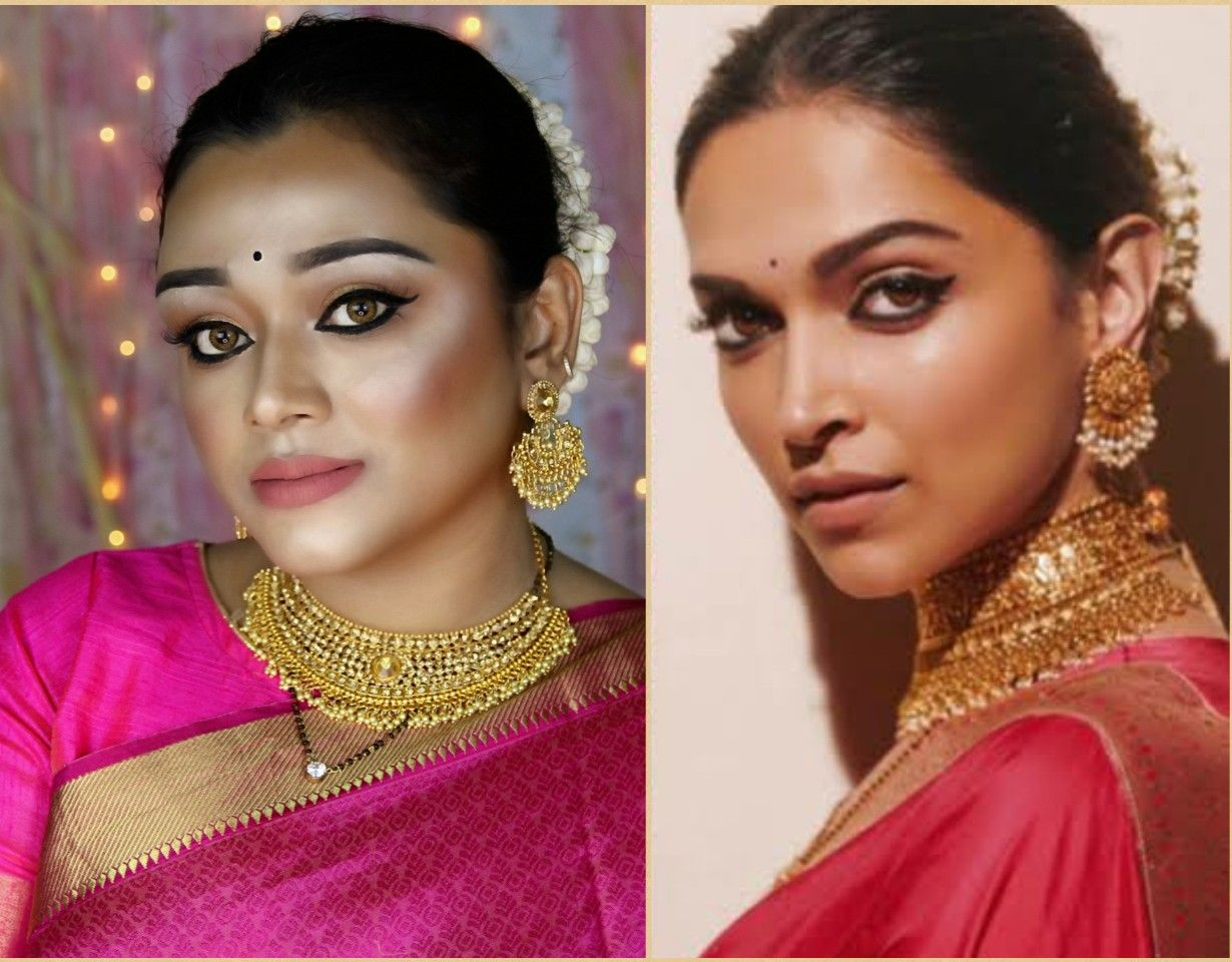 Deepika Padukone Inspired Makeup Look Celebrity Look Makeup Looks Makeup Inspiration