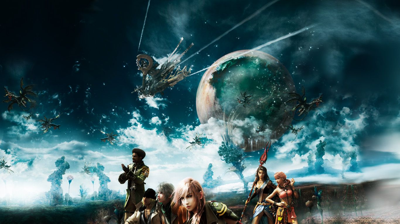 Final Fantasy Xiii Team Wallpaper 1 Final Fantasy Wallpaper