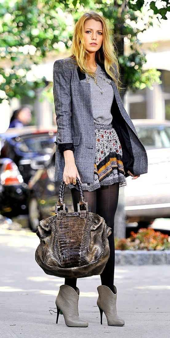 509a6a5e7693 When she took preppy chic to a whole  nother level. Serena Van Der Woodsen  style.