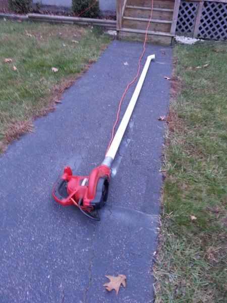 Use Duct Tape To Clean Gutters With Leaf Blower Gutter Cleaner Gutter Cleaning Tool Diy Gutters