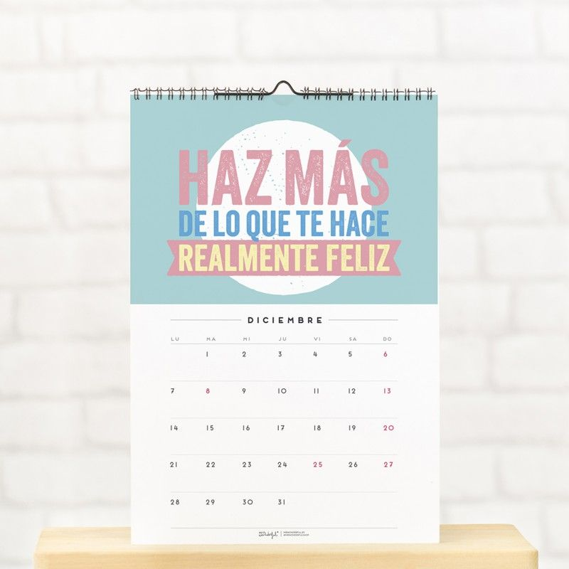 mr wonderful calendario de pared 2015 promete a por l
