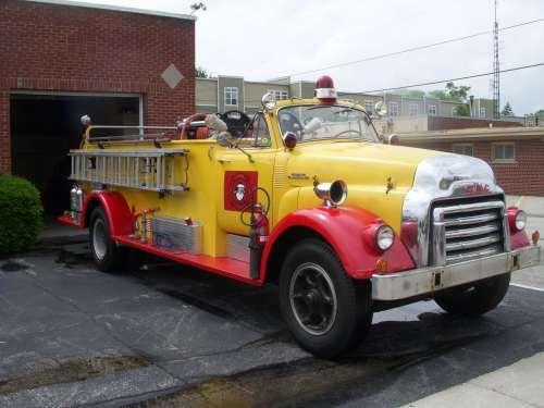 1954 Gmc 630 Fire Truck Trucks Gmc Trucks Fire Trucks