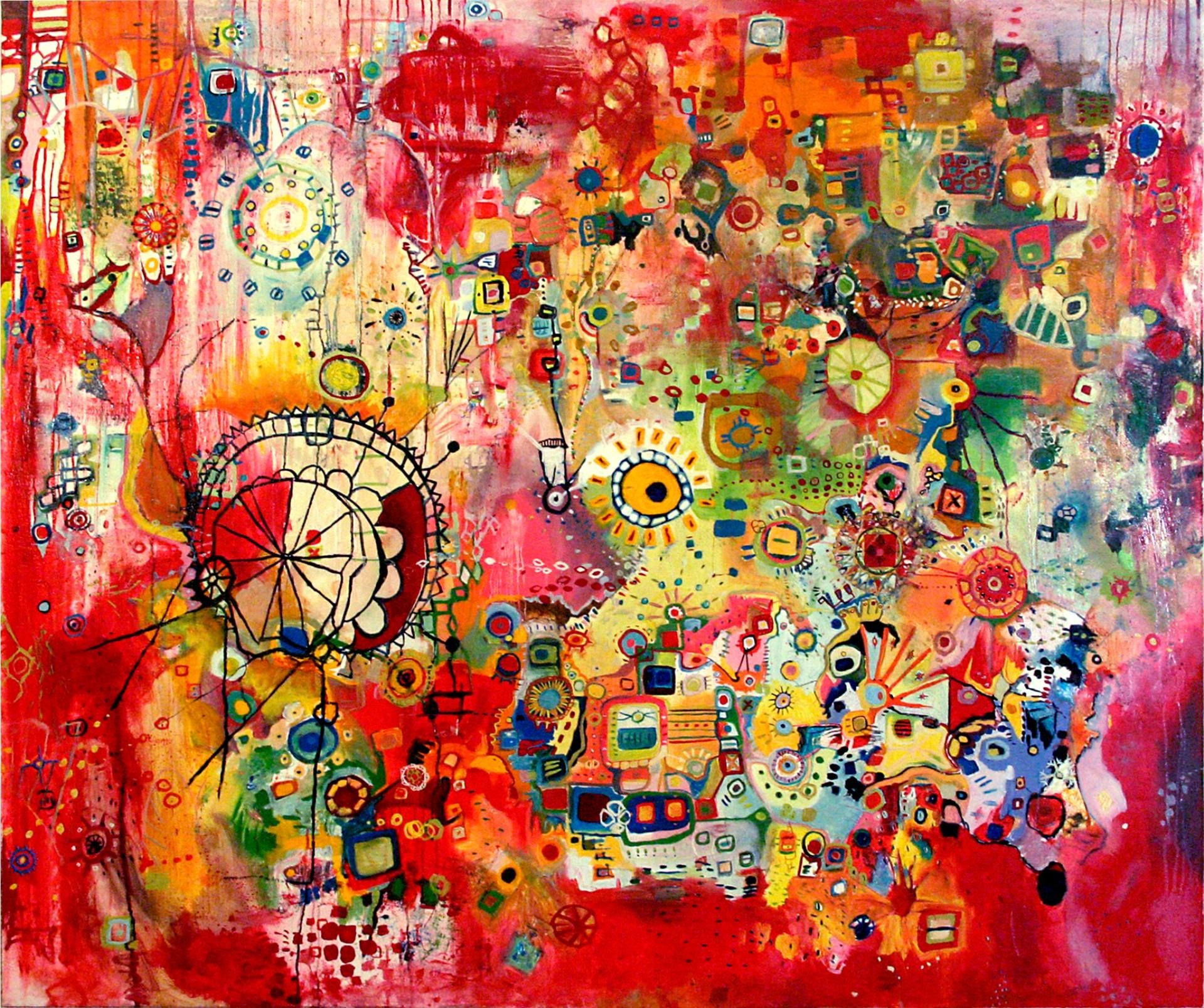 Miss Colombia Sold A Oil On By Clara Fialho From United States It Portrays Abstract Relevant To Paint Abstract Art Painting Abstract Art Collection Art