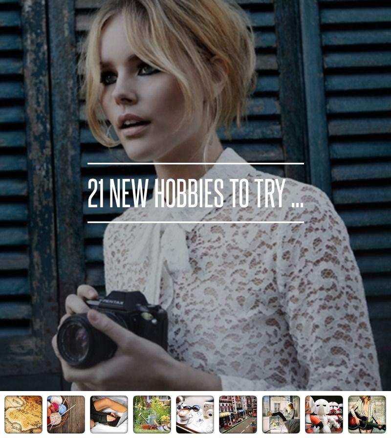 21 New #Hobbies to Try ... → #Lifestyle #Treasure   yogi ...