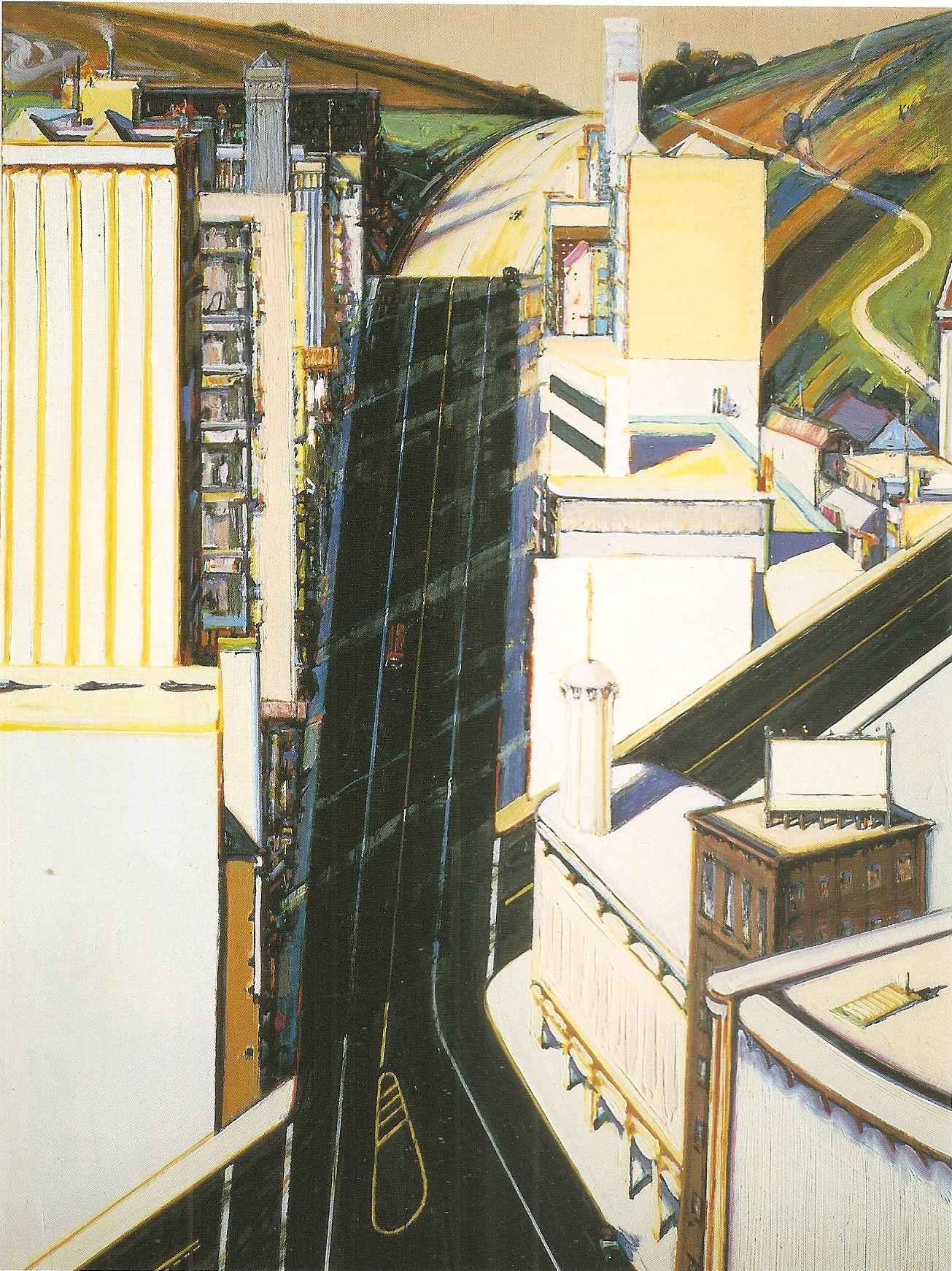 Wayne Thiebaud Painting Two In 2019 Art Artwork