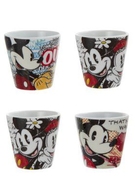 Disney - MICKEY MOUSE MOUSE - PACK OF 4 - Servicesæt - flerfarvet