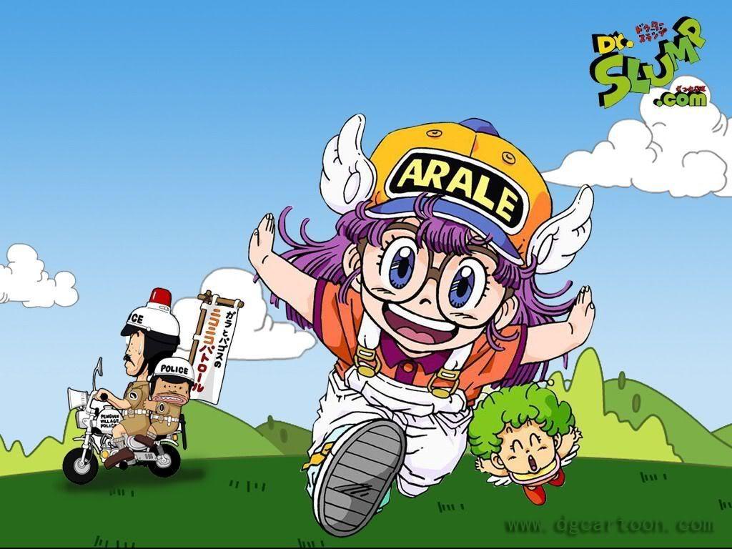 Wallpapers De Arale Dr Slump Personajes De Dragon Ball Dibujos Animados Halloween Para Colorear