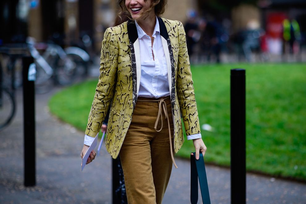 Streetstyle Fashion Week in London.  Part 1