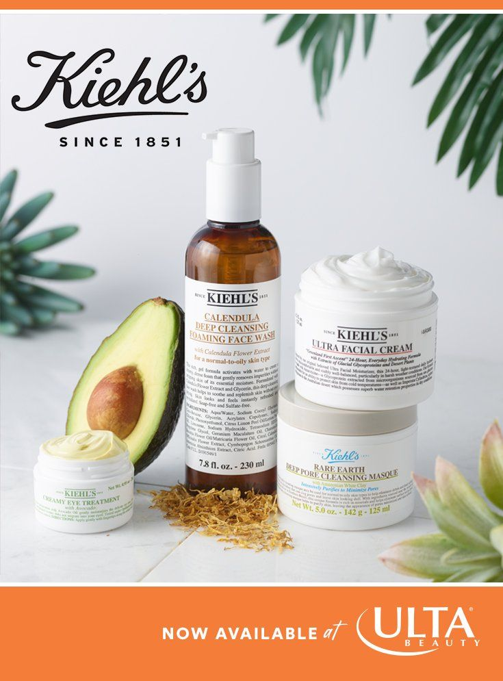 Kiehl S Is Now At Ulta Beauty Since 1851 The Brand Has Been Combining Science And Nature For Truly Effective Ye With Images Makeup Skin Care Beauty Treatments Ulta Beauty