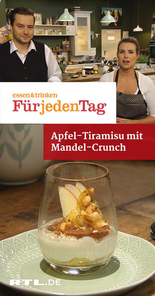 Apfel-Tiramisu mit Mandel-Crunch | RTLplus - Di 29.01.