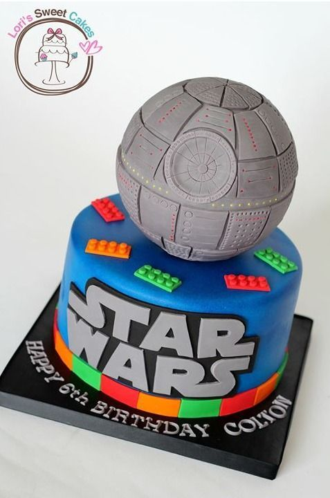 Lego Star Wars Cake Fiestas Infantiles Pinterest Star Wars