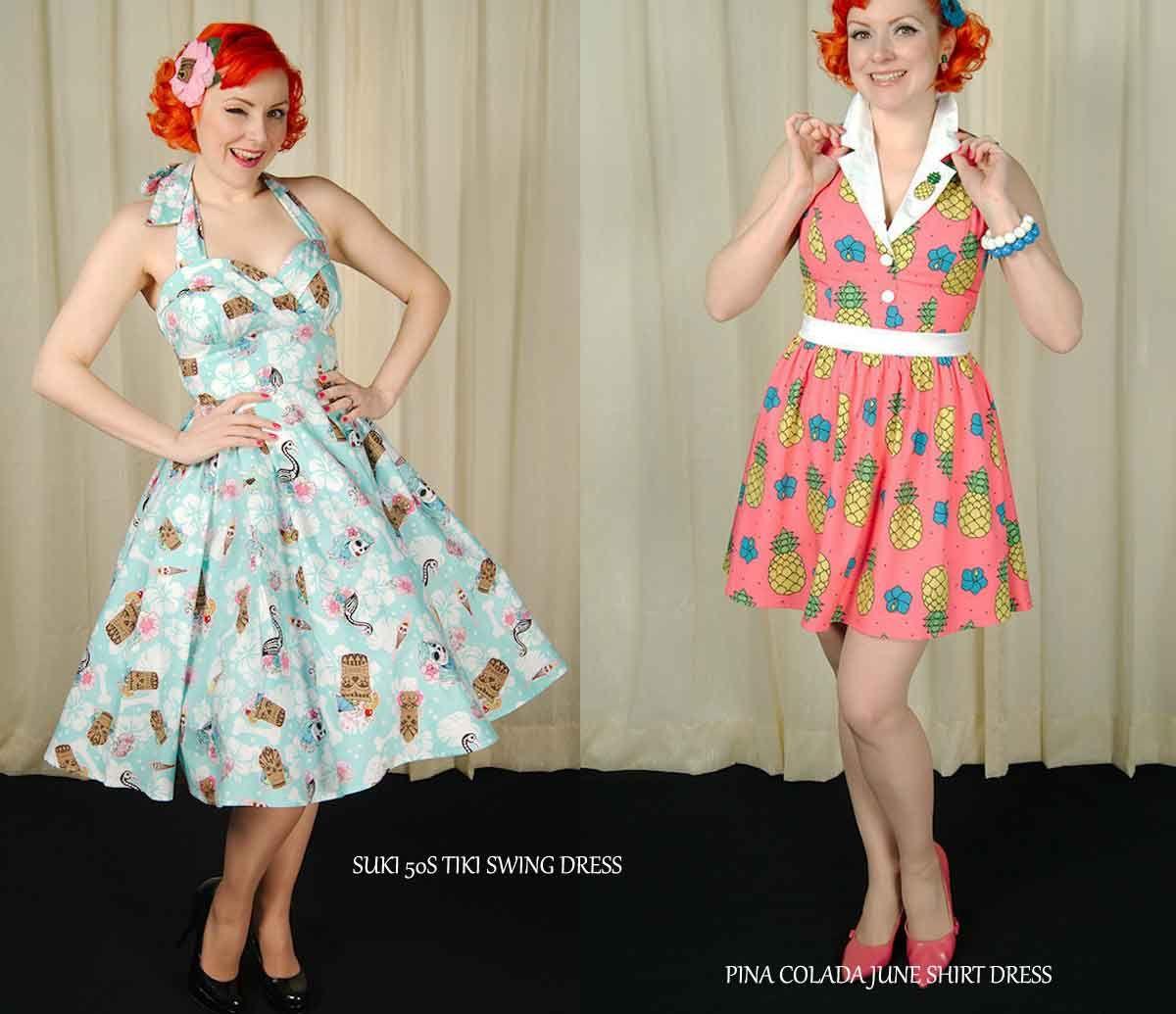 443ea36b786 Honolulu Baby  Tiki Dresses from Cats Like Us  glamourdaze  blog  feature   pinup  tiki  retro  catslikeus