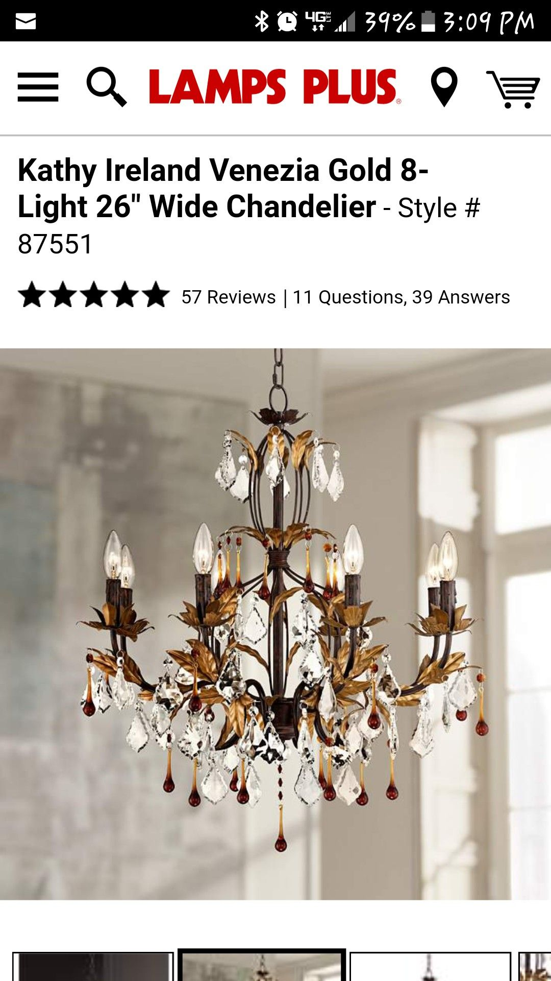 Pin by Evelyn Vazquez on Home Decor. Chandelier style