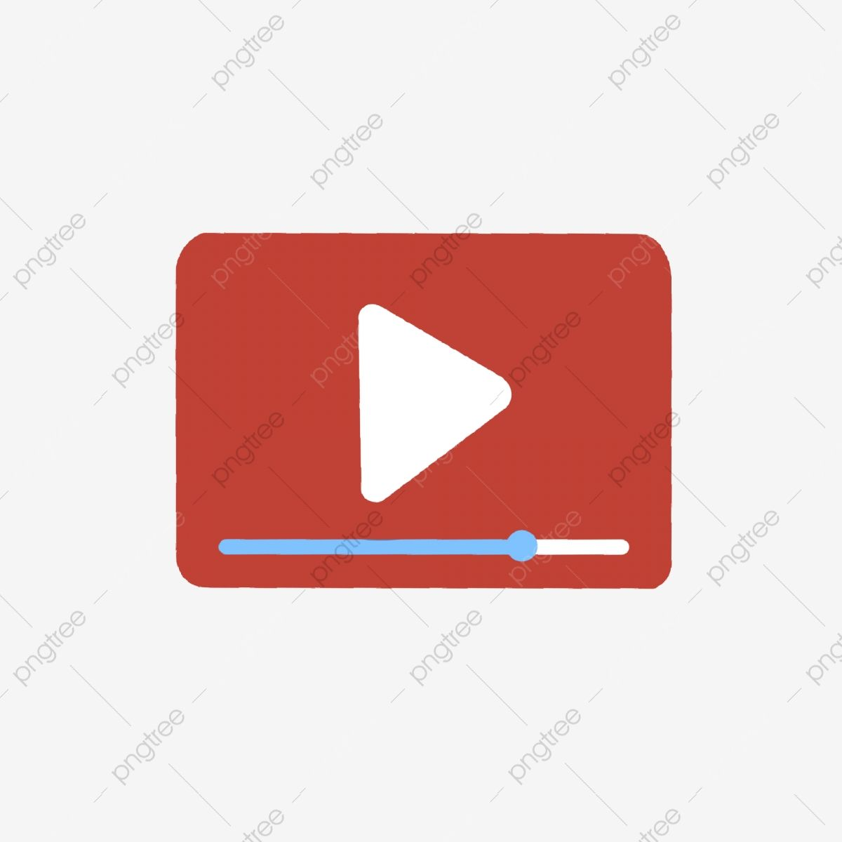 Red Video Play Button Logo Red Video Play Button Progress Logo Png Transparent Clipart Image And Psd File For Free Downloa Red Video Clipart Images Clip Art