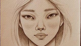 رسم الوجه للمبتدئين خطوة بخطوة الخطوات على قناتي في اليوتيوب بأسم مصطفى سعدي Mustafa Saadi28 مصطف Self Portrait Drawing Drawing For Beginners Face Drawing