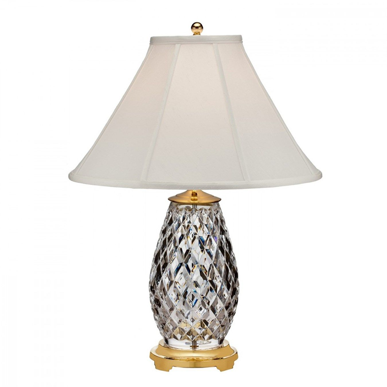 Waterford Diama Table Lamp In 2020 Table Lamp Lamp Crystal Table Lamps