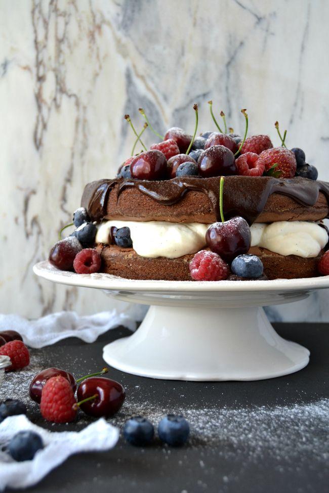 Sweet Gula: Black Forest Cake | Bolo Floresta Negra