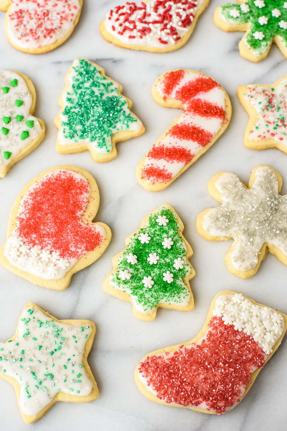 Soft Cream Cheese Sugar Cookies With Perfect Frosting