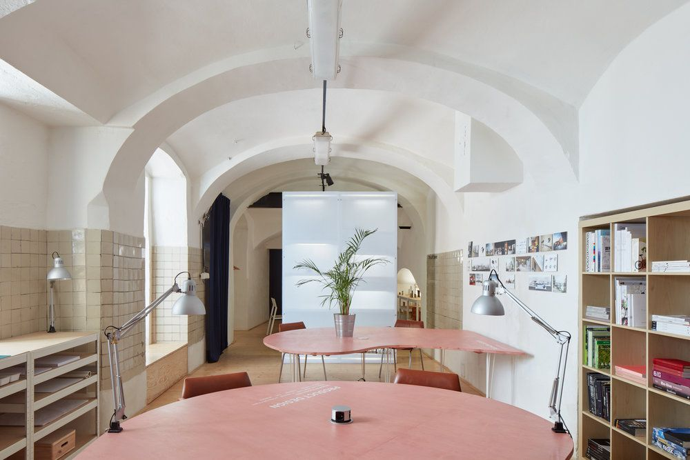 The Distillery - Social Reactor by KOGAA Studio R E F U R B I S H - interior trend modern gestein
