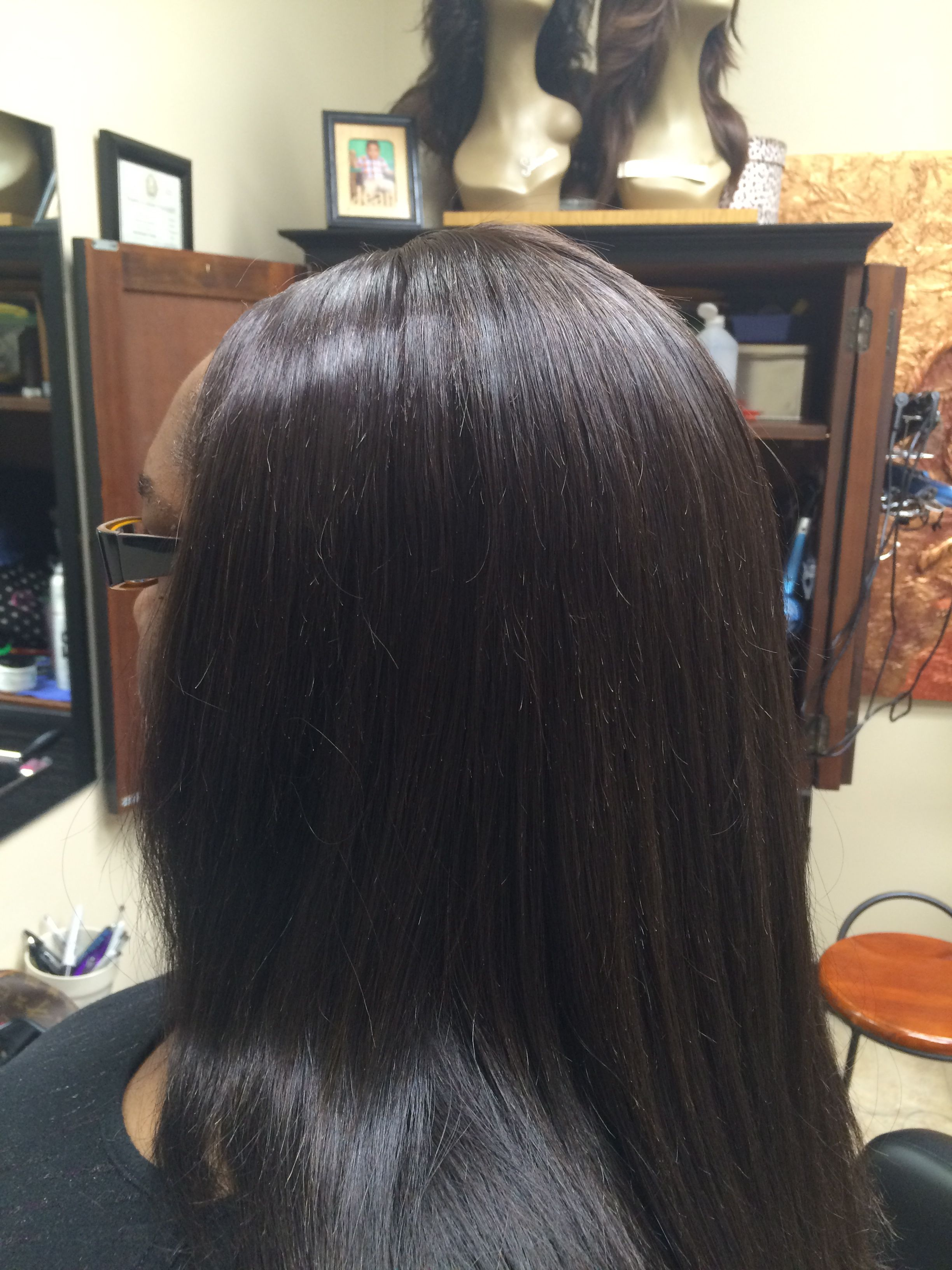 Braidless Sewin Hair Weaves And Hair Replacement Pinterest