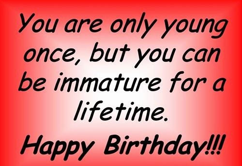 Happy Birthday Wishes For A Man Inspirational Happy Birthday Young