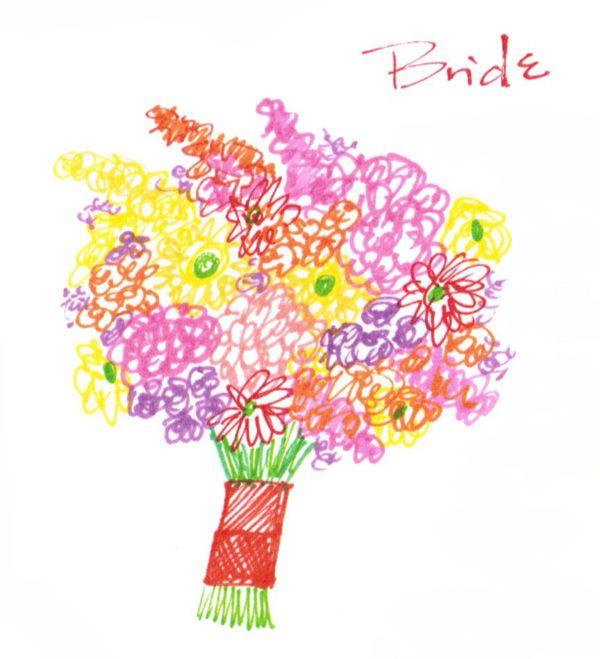 Whole Foods Wedding Bouquet: Wildflower Wedding Flowers On A Budget!