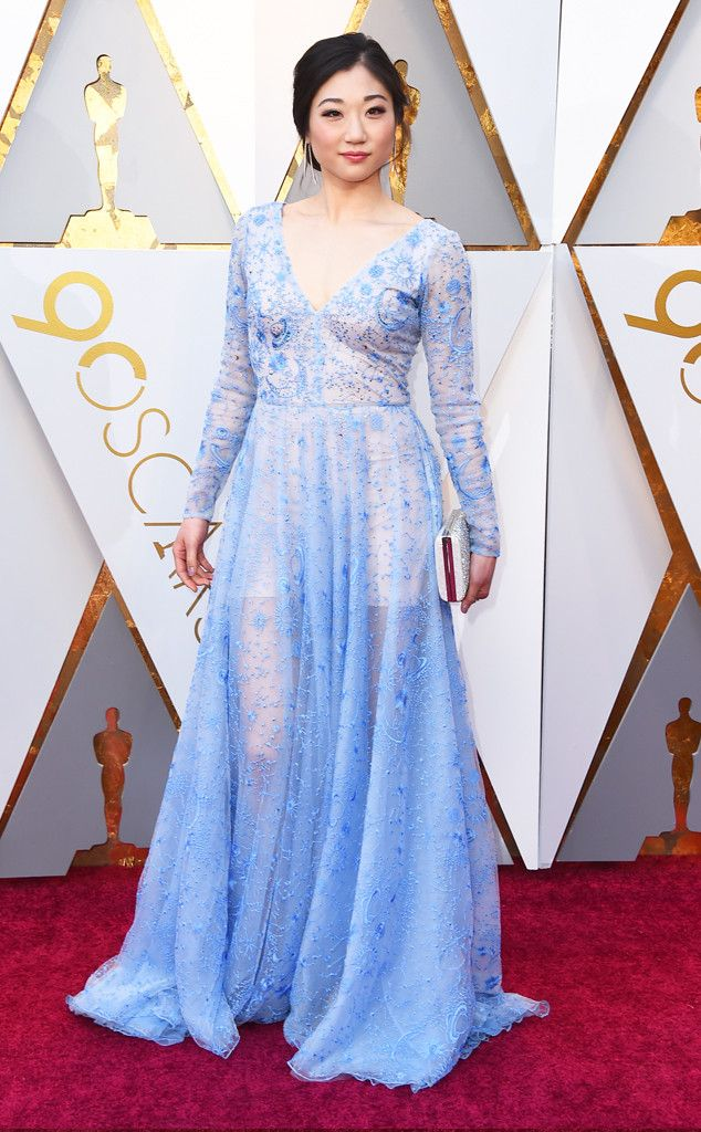 Mirai Nagasu from Standout Style Moments From Oscars 2018 ...